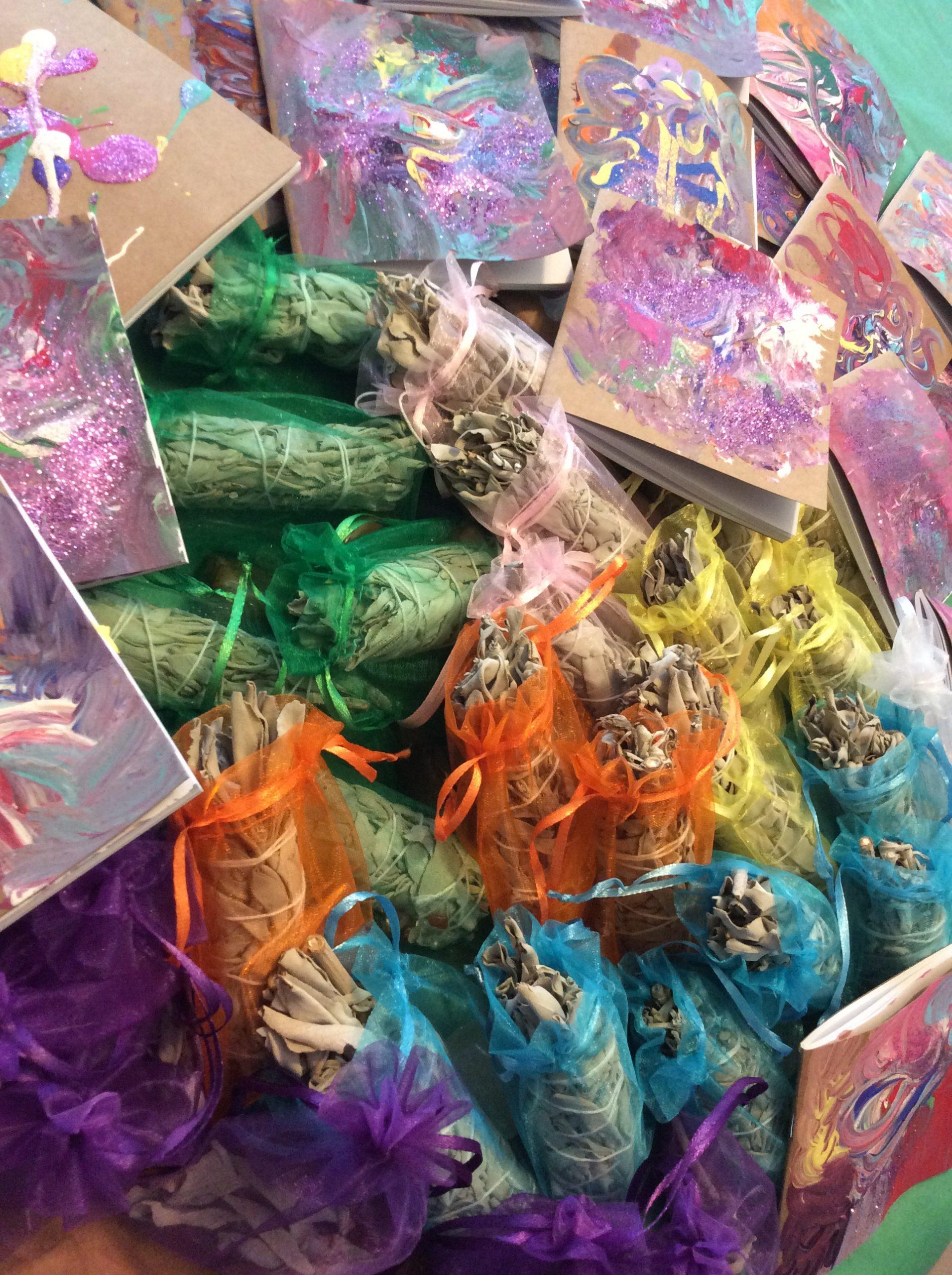 Healing Kit With Sage, Palo Santo, & Crystals